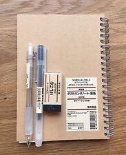 Muji Stationary Pack | Pen + Notebook | New