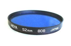 52mm Hoya 80B Filter - Blue CC - PERFECT
