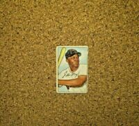 1952 Bowman Baseball #218 Willie Mays (New York Giants)
