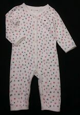 TOMMY HILFIGER Baby Boys White Romper All-In-One Logo Outfit 3-6 Months VGC