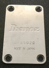 1986 Ibanez RB855 Roadstar II Bass Guitar Original Black Neck Plate Japan