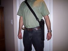 "RIGHT Hand Bandoleer style Shoulder Holster THOMPSON CENTER ENCORE w/ 12"" Barrel"