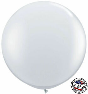 """3ft HUGE 36"""" Clear Qualatex Latex Balloon Party Decoration Birthday Wedding Baby"""