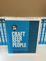 BrewDog: Craft Beer for the People by James Watt (Hardback, 2017) with beer mats