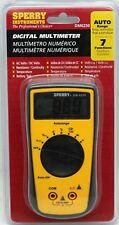 Sperry Digital Multimeter Auto Range 7 Function DM6250 AC/DC Battery Test