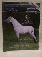 Miniature Horse Voice Magazine - September 2000 - Vol. 7 No. 11
