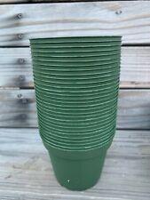 """4"""" Dia Green Pots (30-Pack) New"""