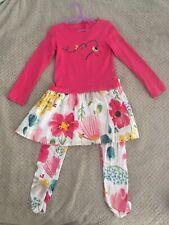 Catimini Dress And Leggings Size 5 Years