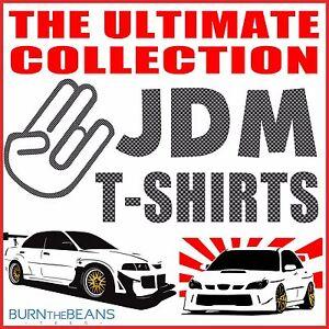 JDM t-shirt collection MX5 EVO RX7 RX8 Supra etc