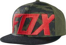 Fox Racing Marz Limited Edition Snapback Hat Black