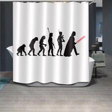 "Ape Human Planet War Waterproof Fabric Bathroom Decor Shower Curtain Hook 60x72"""
