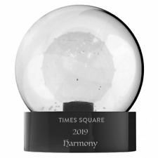 Waterford 2019 TIMES SQUARE Harmony NEW YEAR'S EVE Snowglobe Globe #40032344