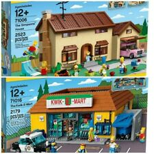 LEGO Simpsons Set: 71006 Simpsons House & 71016 Kwik-E-Mart - NEW / MINT / EPIC!