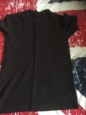 Camiseta Térmica de Manga Corta-Negro Talla S