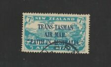 1934 New Zealand Air Mail Overprint Trans-Tasman SG 554 fine used