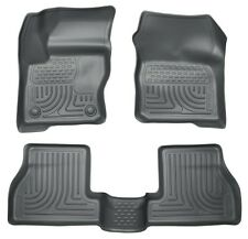 2012-2016 Ford Focus Husky WeatherBeater Front & 2nd Row Grey Floor Liners