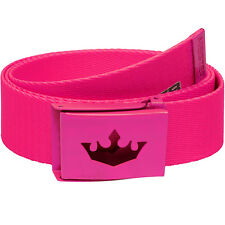 "MEISTER PLAYER GOLF WEB BELT - FITS UP TO 42"" - Shorts Nike Women Girls HOT PINK"