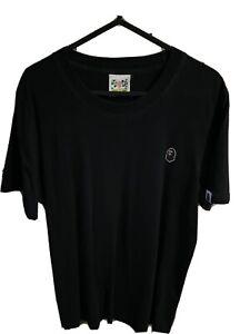 A bathing ape Black Logo t shirt