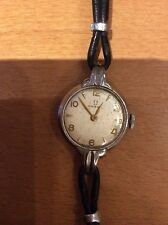 Fancy anni 1940 donna OMEGA. S/S. WIND UP.