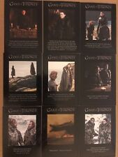 GAME OF THRONES - SEASON 7: QUOTABLE GAME OF THRONES CHASE CARDS - FULL SET