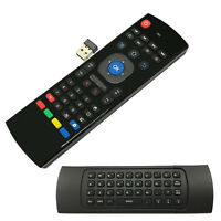 2.4GHz Air Mouse Qwerty Wireless Voice Keyboard Remote For Android Smart TV Box