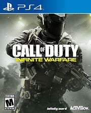 PLAYSTATION 4 PS4 GAME CALL OF DUTY INFINITE WARFARE BRAND NEW AND SEALED