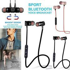 Unisex General Stereo In-Ear Earphones Earbuds Handsfree Bluetooth Wireless ~New