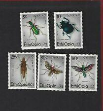 Ethiopia sc#854-8 (1977) Complete  MNH