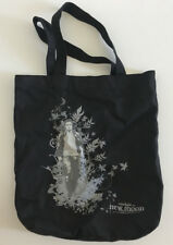 Twilight New Moon Canvas Bag Edward Cullen Robert Pattinson Gray Black EUC RARE