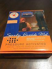 Halloween Spooky Sounds Haunted House Door Mat Decor