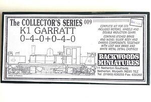 Backwoods Miniatures 009 WHR K1 Garratt Loco Kit  w/ NP Nameplates
