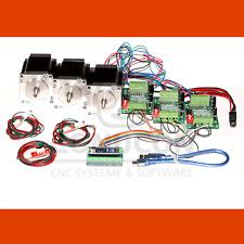 3d del cnc USB motor PAP control controller set nema 23 3,0a con software de inventario