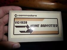 Commodore VIC-20 Home Babysitter VIC-1928 Video Game Cartridge (VIC-20, 1982)