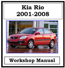 KIA RIO 2001 - 2008 WORKSHOP SERVICE REPAIR MANUAL DIGITAL DOWNLOAD
