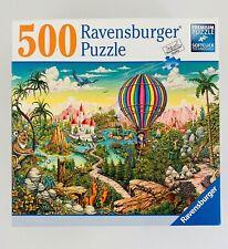 Ravensburger Jigsaw Puzzle ~ Hot Air Hero ~ 500 Piece Jigsaw Puzzle