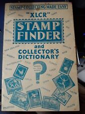 Xlcr stamp finder & collectors dictionary