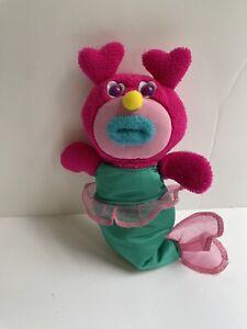 Rare Fisher Price Mattel Sing a ma jig Purple Pink Plush Mermaid 2010 WORKS
