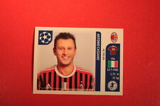 PANINI CHAMPIONS LEAGUE 2011/12 N 511 CASSANO MILAN WITH BLACK BACK MINT!!