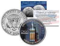 ORION Spacecraft NASA Test Flight 2014 JFK Half Dollar Coin - NEW QUEST FOR MARS
