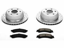 For 2000-2006 Chevrolet Tahoe Brake Pad and Rotor Kit Rear Power Stop 53437HS
