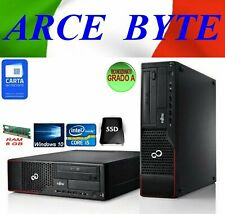 PC DESKTOP FUJITSU ESPRIMO E710 CORE i5-3470 3.2GHZ RAM 8GB SSD250GB WINDOWS 10