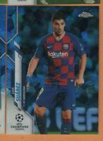 2020 Topps Chrome Sapphire Soccer - #71 Luis Suarez - FC Barcelona - mint