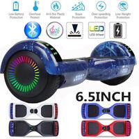 "6.5"" Hoverboard Self Balance Electric Scooter Bluetooth LED Speaker UL no bag"