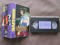 MADONNA The Virgin Tour Live JAPAN NTSC VHS VIDEO w/SPECIAL SLIP CASE 10JV-38105
