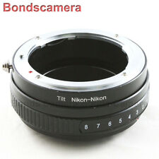 Macro Tilt Adapter for Nikon F AI AF mount lens to Nikon D90 D810 D5300 D7000