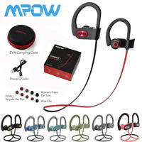 MPOW Flame Bluetooth 5.0 Sport Headset Earbuds IPX7 Waterproof 13-Hr Play CVC6.0