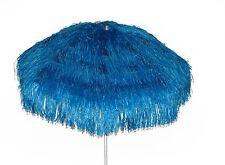 Maffei ombrellone Kenya blu Art.6 palo centrale rafia d. 200 cm made in Italy