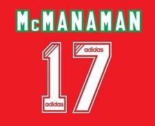 No 17 representando Liverpool 1994-1995 Hogar Camiseta de fútbol local para LFC