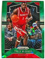 2019-20 Prizm Tracy McGrady SP Green Ice Fanatics Exclusive Rockets Raptors #26
