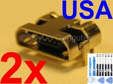2x OEM Type Micro USB Charging Port Sync For Amazon Kindle Fire 7 5th SV98LN USA